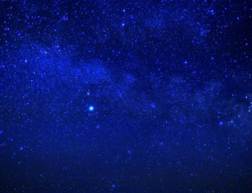 夜空を流れる天の川(星のソムリエさんと)